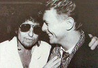 with bowie new york 1985