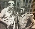 with pete seeger at newport 1963