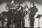 1968 with pete seeger, judy collins and arlo guthrie